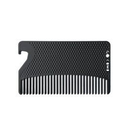 go comb matte black bottle opener go comb