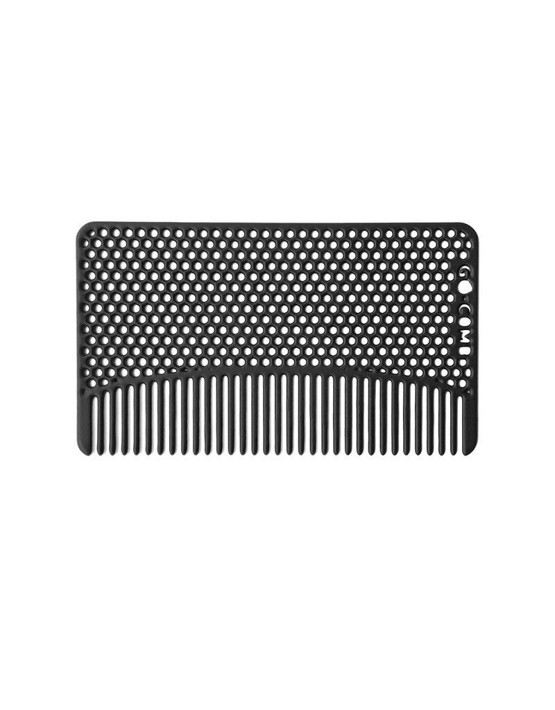 go comb matte black mesh go comb