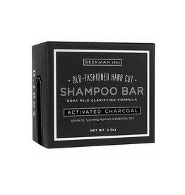 beekman 3.5oz activated charcoal shampoo bar