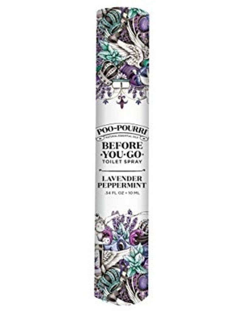poo-pourri lavender peppermint poo-pourri 10mL pocket-sized