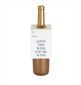 love the wine spirits & wine tag
