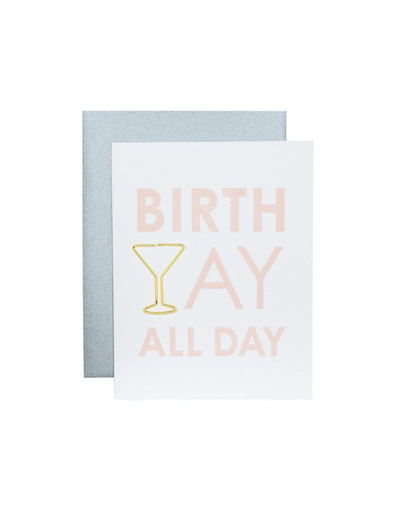 chez gagne birthyay all day card