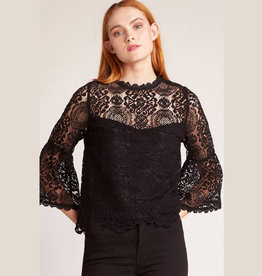 amazing lace black top