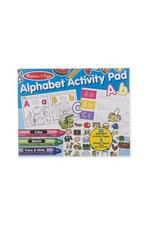 melissa and doug alphabet activity pad