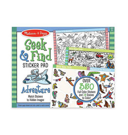 melissa and doug seek & find sticker pad - adventure