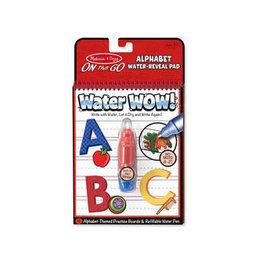 melissa and doug water wow - alphabet