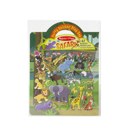 melissa and doug puffy stickers - safari