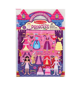 melissa and doug puffy sticker - princess