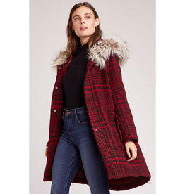 bb dakota play it cool plaid coat FINAL SALE