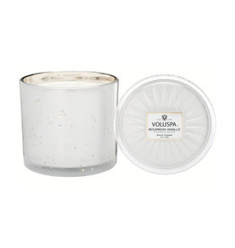 voluspa bourbon vanille 36oz grande maison candle with lid