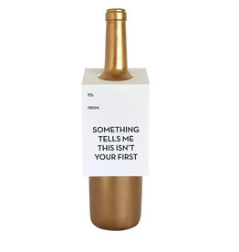 chez gagne isn't your first wine tag FINAL SALE