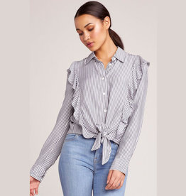 whats my line ruffle blouse