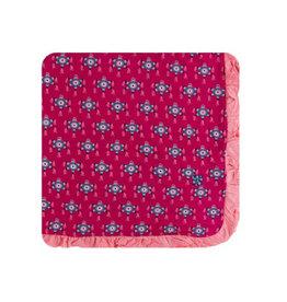 kickee pants rhododendron pinata ruffle toddler blanket