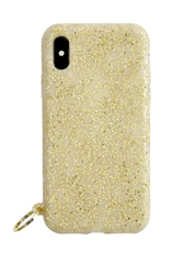 o venture gold confetti o ring iphone case X/XS