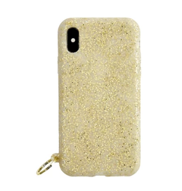 o venture gold confetti o ring iphone case X/XS