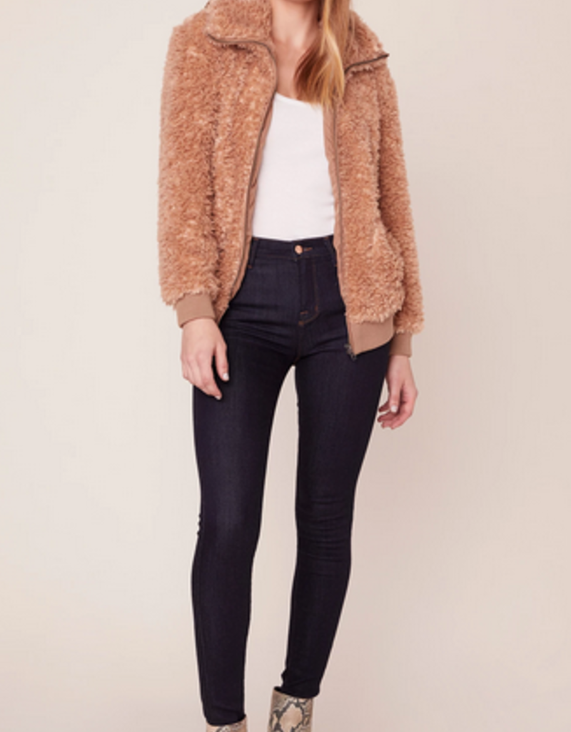teddy or not bomber jacket