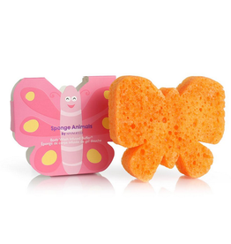 spongelle kids body wash infused buffer - butterfly