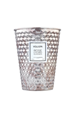 voluspa rose colored glasses giant ice cream cone table candle