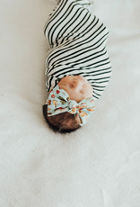 Baby Bling printed knot - goin campin