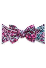 Baby Bling cheetah girl printed knot