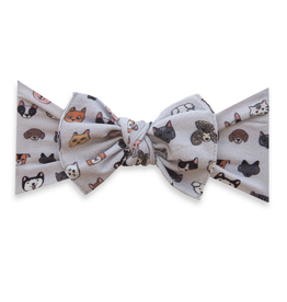 Baby Bling printed knot - pet pals