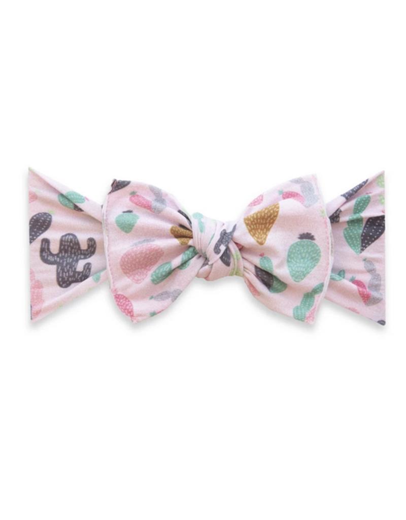 Baby Bling pink desert printed knot