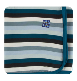 kickee pants meteorology stripe swaddling blanket