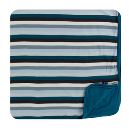 kickee pants meteorology stripe toddler blanket