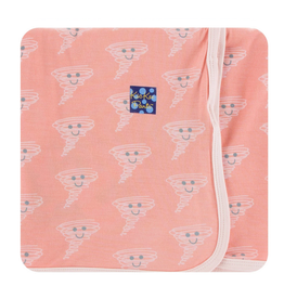 kickee pants blush happy tornado swaddling blanket