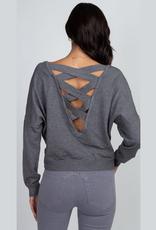 cambria cross back pullover