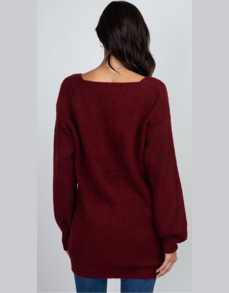 sami vneck sweater