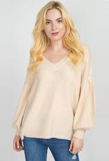 baylee balloon sleeve sweater