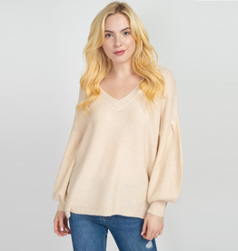 baylee balloon sleeve sweater