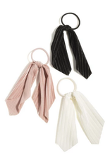 shiraleah assorted set of 3 bow hair ties, multi