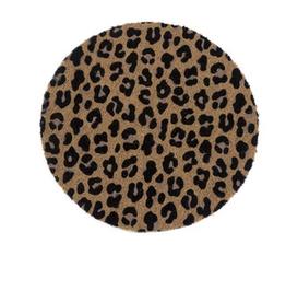 shiraleah leopard doormat
