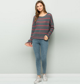 stevie striped sweater
