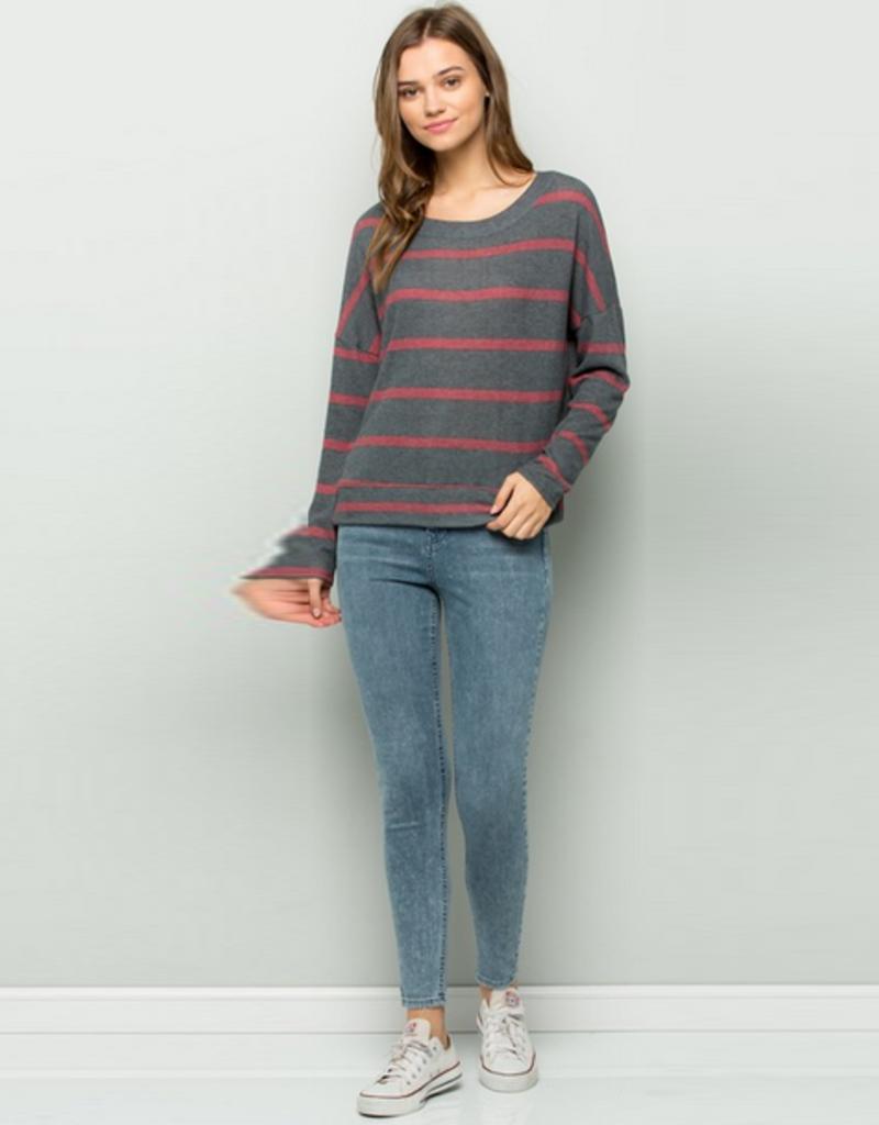 stevie striped sweater