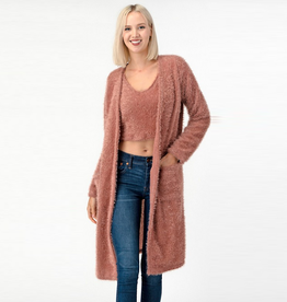 laine long cardigan