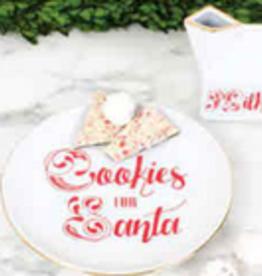 plate set - milk & cookies FINAL SALE