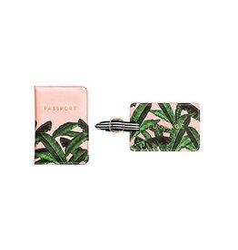 luggage tag & passport set