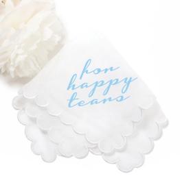 happy tears hankerchief