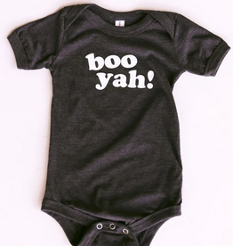 friday + saturday boo yah onesie FINAL SALE
