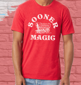 Opolis sooner magic schooner tee