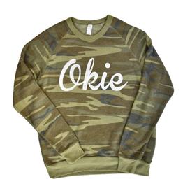 Opolis okie camo champ sweatshirt