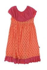 kickee pants nectarine leaf lattice villa dress