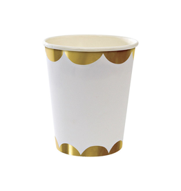 meri meri ts gold party cups