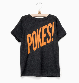 LivyLu childrens pokes wham! triblend tee