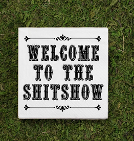 welcome to the shitshow cocktail napkins 20ct