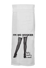 im no hooker kitchen towel