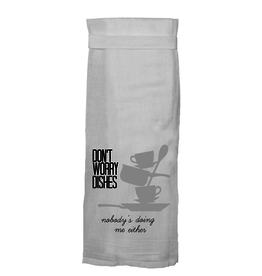 dont worry dishes towel